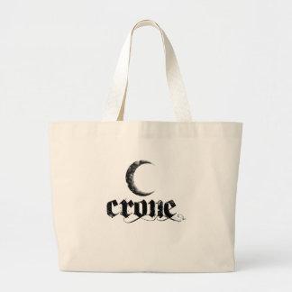 crone jumbo tote bag