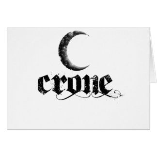 crone greeting cards