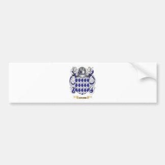 Crone Coat of Arms Car Bumper Sticker