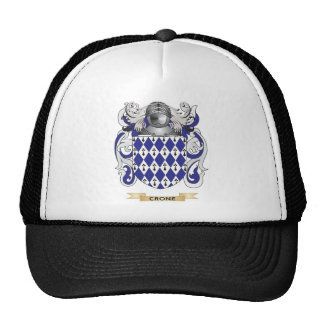 Crone Coat of Arms Mesh Hats