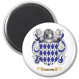 Crone Coat of Arms 2 Inch Round Magnet