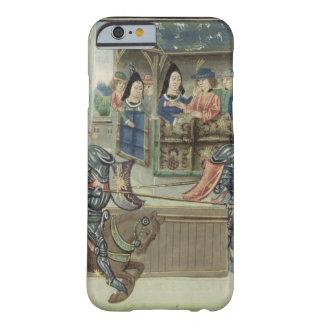 Crónica de Fr.16830 f.16v de Jacques de Lalain Funda Para iPhone 6 Barely There