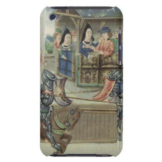 Crónica de Fr.16830 f.16v de Jacques de Lalain (ve iPod Touch Coberturas