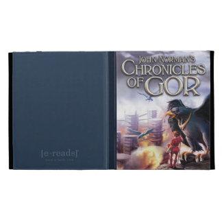 Crónicas de Gor - cubierta del iPad