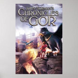 Crónicas del poster de Gor - Tarnsman de Gor