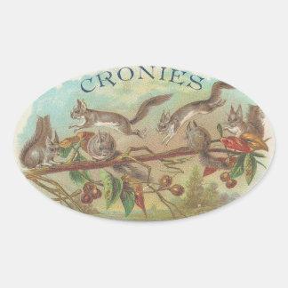 Cronies Oval Sticker
