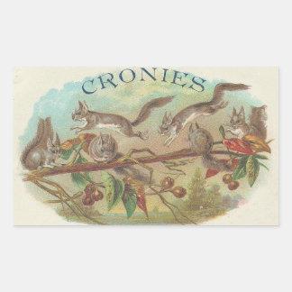 Cronies Rectangular Sticker