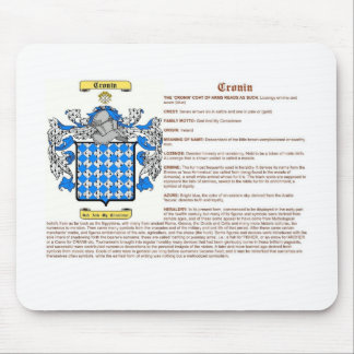 Cronin (significado) tapete de ratones