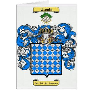 Cronin Tarjeta De Felicitación