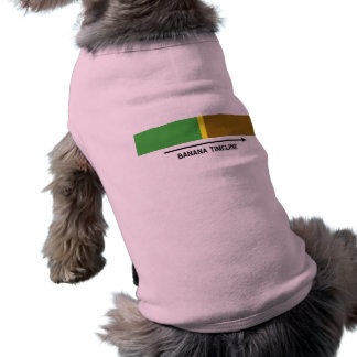 Cronología del plátano camisetas de perrito