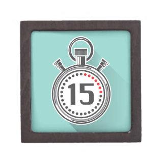 Cronómetro Cajas De Recuerdo De Calidad