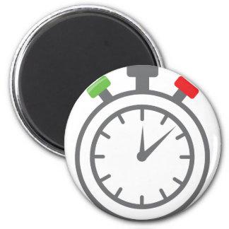 cronómetro - contador de tiempo de la alarma imán redondo 5 cm