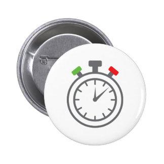cronómetro - contador de tiempo de la alarma pin redondo 5 cm