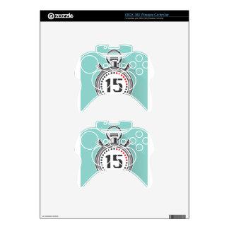 Cronómetro Mando Xbox 360 Calcomanía