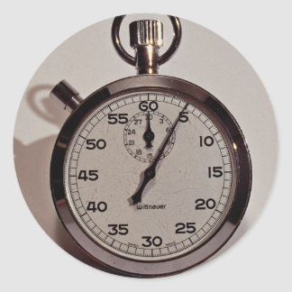 Cronómetro Pegatina