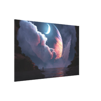 Cronus Rising Canvas Print