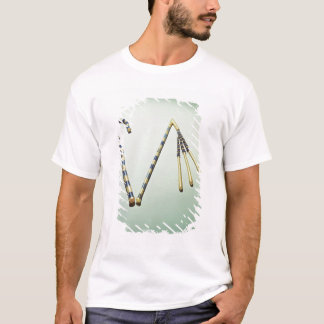 Crook and flail, from the Tomb of Tutankhamun T-Shirt