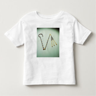 Crook and flail, from the Tomb of Tutankhamun Toddler T-shirt