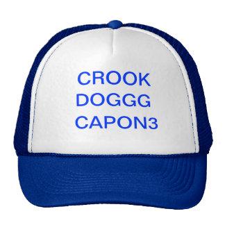 CROOK CAPON3 TRUCKER CAPS MESH HATS