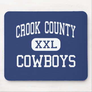 Crook County - Cowboys - High - Prineville Oregon Mouse Pad