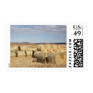 Crook County, Hay Bales 2 Postage Stamp
