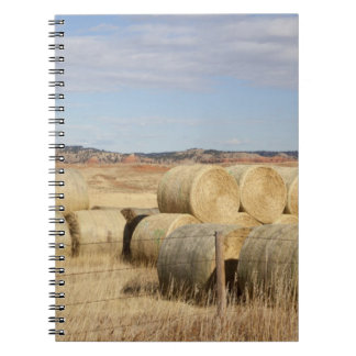 Crook County, Hay Bales 2 Spiral Notebook