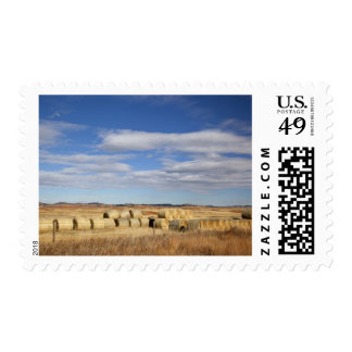 Crook County, Hay Bales Postage Stamp