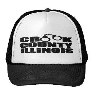 Crook County IL Mesh Hat