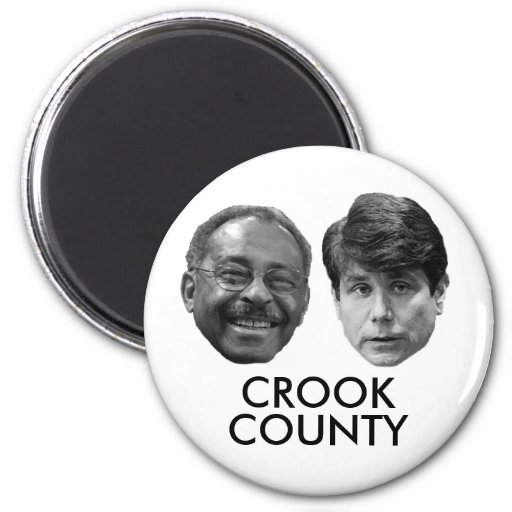 CROOK COUNTY (Part 2) Refrigerator Magnets