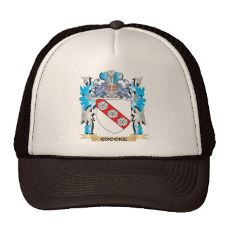 Crooke Coat of Arms - Family Crest Hats