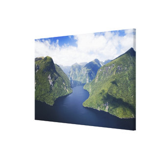 Crooked Arm, Malaspina Reach, Doubtful Sound, Canvas Print
