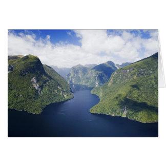 Crooked Arm, Malaspina Reach, Doubtful Sound, Card