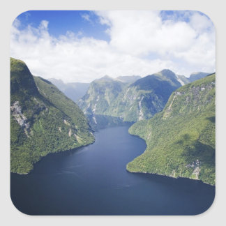 Crooked Arm, Malaspina Reach, Doubtful Sound, Square Sticker