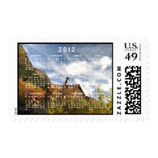 Crooked Cabin; 2012 Calendar Postage
