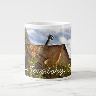 Crooked Cabin; Yukon Territory Souvenir Giant Coffee Mug