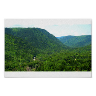 Crooked Creek Lookout Poster