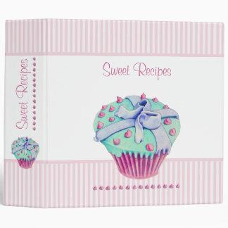 Crooked Cupcake Avery Binder