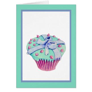 Crooked Cupcake Card
