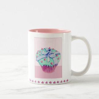Crooked Cupcake pink Mug
