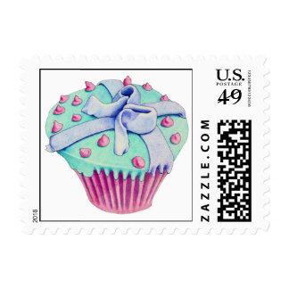 Crooked Cupcake Stamp
