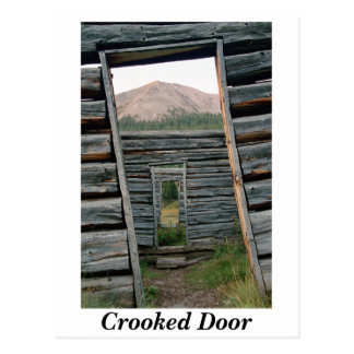 Crooked Door Postcard
