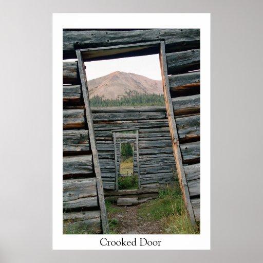 Crooked Door Print
