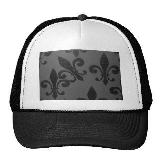 Crooked Fleur De Lis Mesh Hats