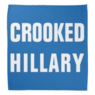 Crooked Hillary Clinton Bandana