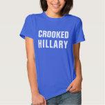 Crooked Hillary Clinton Shirt