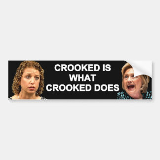 Crooked Hillary DWS Together Bumper Sticker
