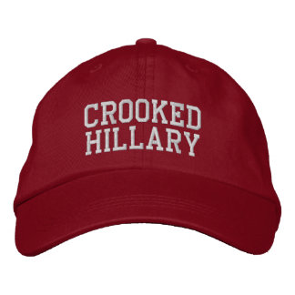 Crooked Hillary Elections 2016 Baseball Cap