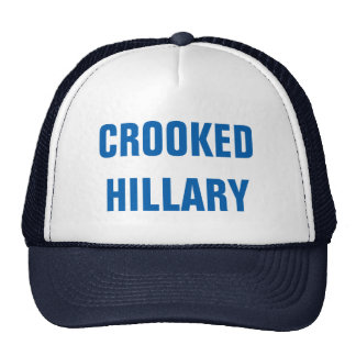 Crooked Hillary Elections 2016 Trucker Hat