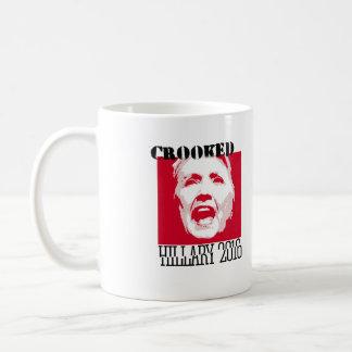 CROOKED HILLIARY - - - Anti-Hillary - Coffee Mug