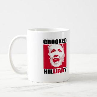 CROOKED HILLIARY - - Anti-Hillary - Coffee Mug